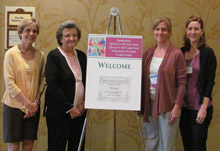 Drs. Laurel Northouse, Barbara Given, Joy Goldsmith, and Elaine Wittenberg-Lyles