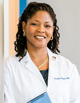 Photo of Dr. Chanita Hughes-Halbert