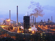 Emissions from coking plants typically include carcinogens such as cadmium and arsenic.