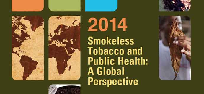 Report Cover of Smokeless Tobacco and Public Health: A Global Perspective