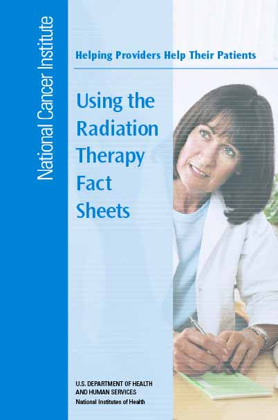Helping Providers Help Their Patients: Using the Radiation Therapy Sheets Cover