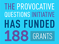 Total grants and funding for Provocative Questions