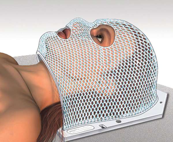 Radiation Therapy Head Mask