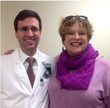 Dr. Christian Hinrichs and Susan Scott