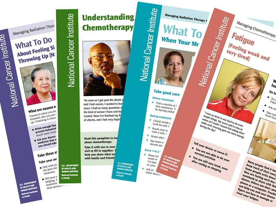 Cover sheets for patient education material