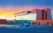University of New Mexico Cancer Research and Treatment Center Building