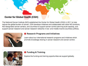 Center for Global Health Infographic