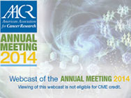 AACR Annual Meeting 2014 Graphic