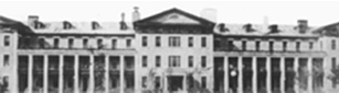The Marine Hospital Service Stapleton Staten Island 19th century, where the single room lab of hygiene was located, is renamed the NIH.