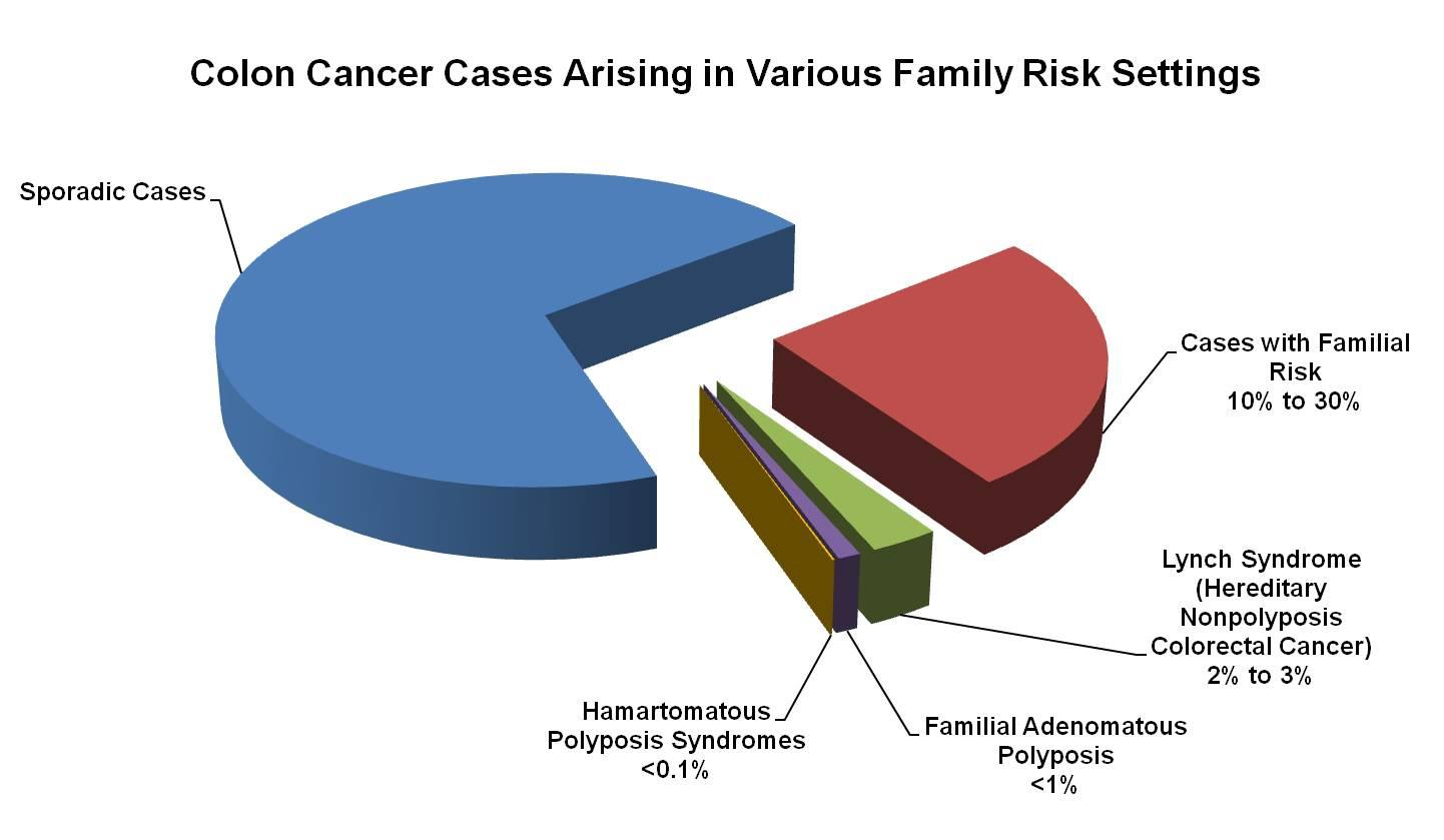 Genetics of colorectal cancer pdqhealth professional version enlarge pie chart showing the fractions of colon cancer biocorpaavc