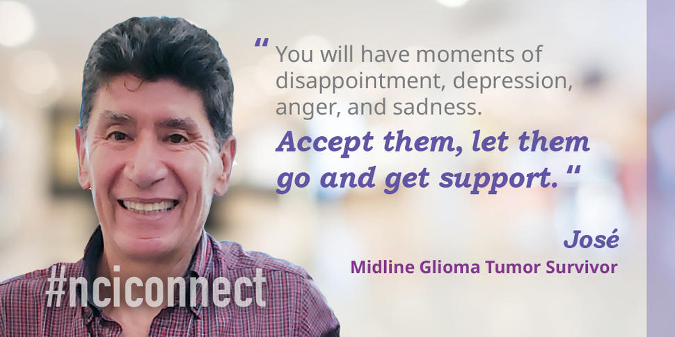 Jose shares his advice to accept your struggles and get support.