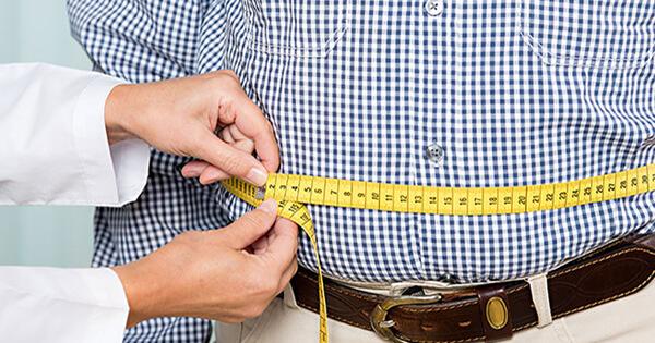 Men getting fat