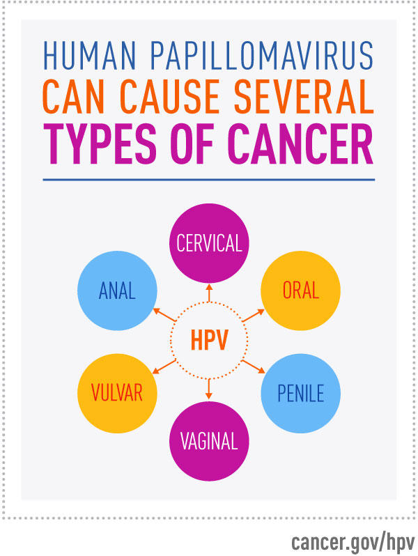 hpv infection causes cancer)