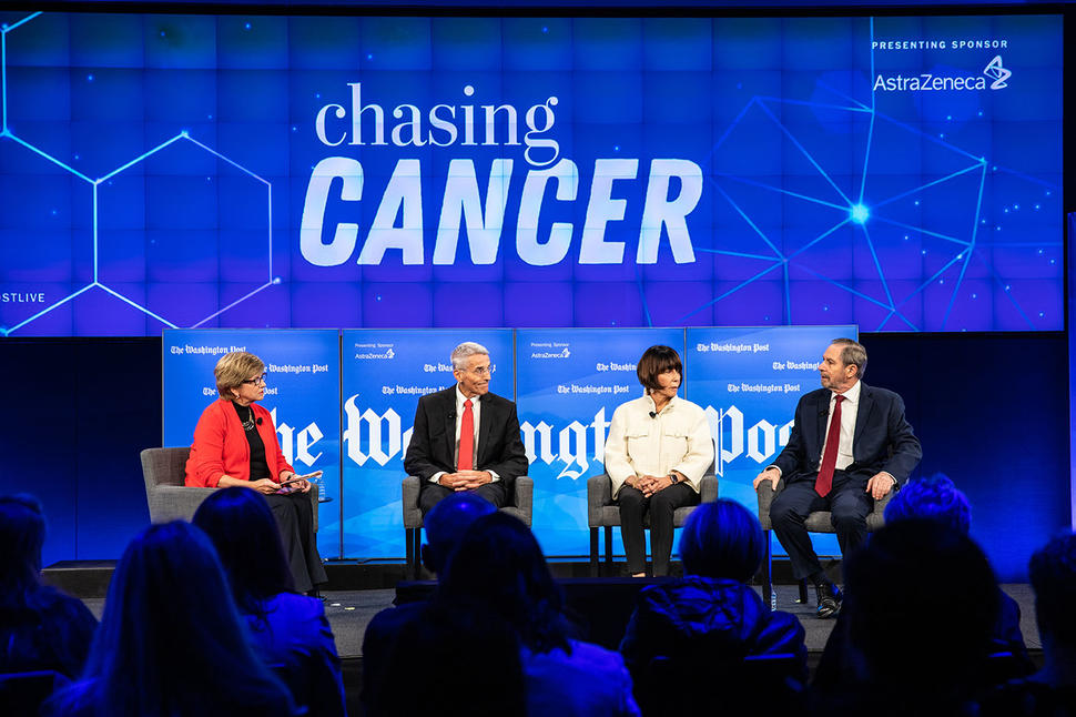 Dr. Doug Lowy participates in The Washington Post's live event, Chasing Cancer.