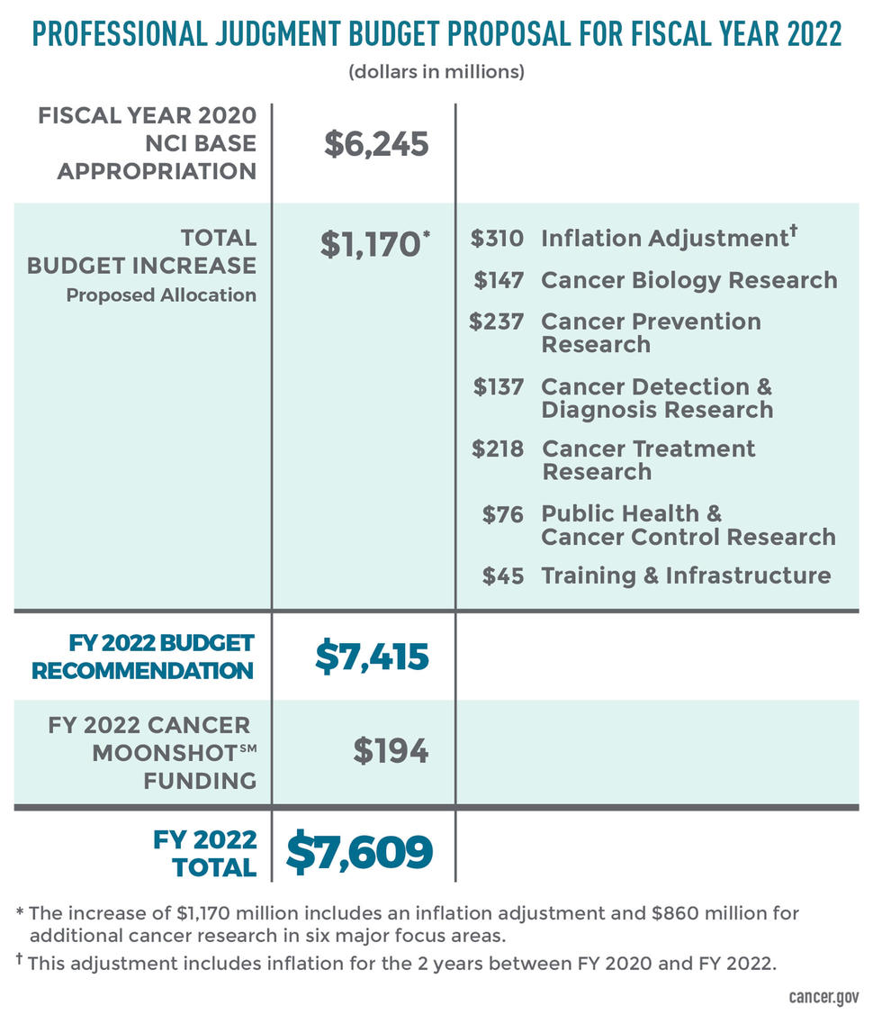 Professional Judgment Budget Proposal for FY 2022