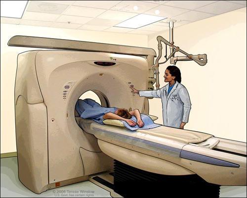 Prueba de contraste para detectar cancer
