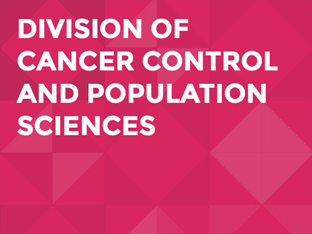 Graphic for the Division of Cancer Control and Population Sciences