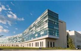 Photo of the Frederick National Laboratory for Cancer Research.