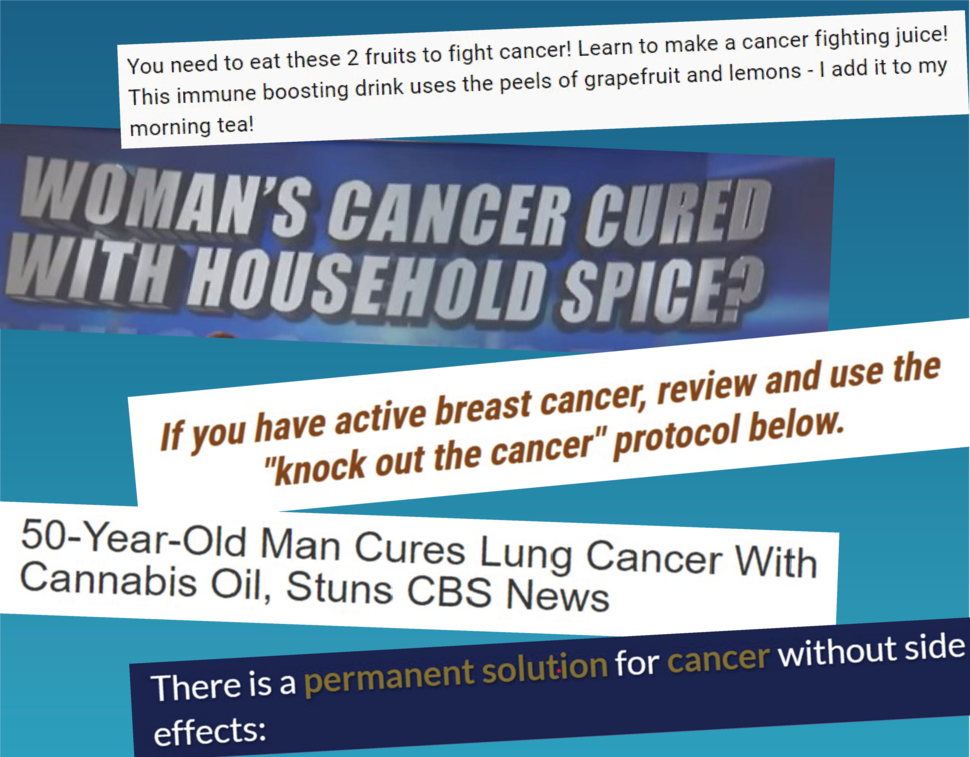 The Challenges of Cancer Misinformation on Social Media