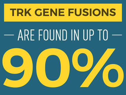 TRK Gene Fusions are found in up to 90% of rare cancers