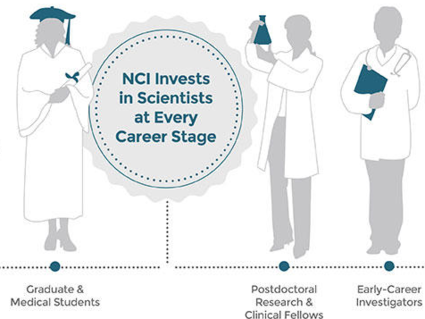 NCI invests in scientists at every career stage.
