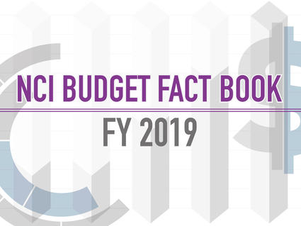 2019 NCI Budget Fact Book Graphic