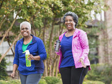 Physical activity affects survival in high-risk breast cancer